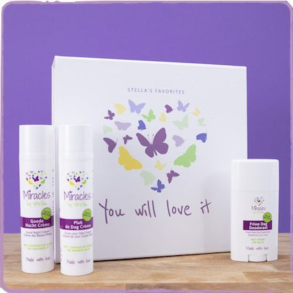 Giftset full of natural and vegan skin care